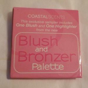 5/25 bundle. Coastal Scents Blush/Bronzer palette